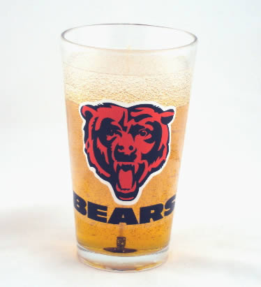 Chicago Bears Beer Gel Candle