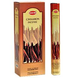Cinnamon Incense - 20 Sticks 40 Minutes Each - 20g