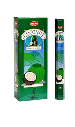Coconut Incense - 20 sticks